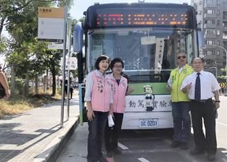台中自駕巴士開放試乘 市議員:順暢度、舒適度、安全度有待加強