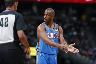 NBA》名球評大膽預測 保羅85%機率加盟湖人