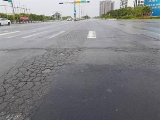台南安明路路平工程 11日起夜間施工