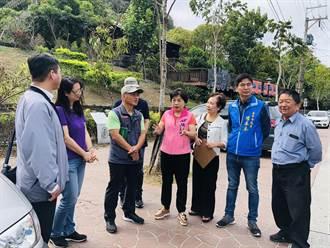 楊瓊瓔會勘后里農村再生工程 水保局允速辦理