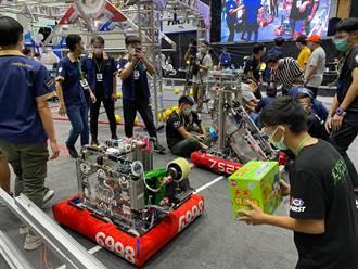 南科自造基地培訓有成 6隊奪機器人大賽雙聯盟冠軍