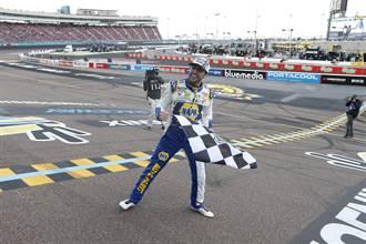繼承名人堂父親衣缽 他成NASCAR第三年輕冠軍