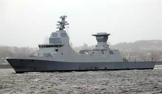 以色列薩爾6型巡邏艦  2千噸的海上鐵穹