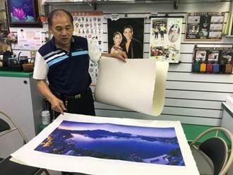 傳統中創新 手工宣紙展現攝影創作