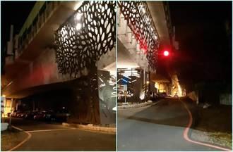 长荣男大生贴照嘆「不到3天开始关路灯」 南市工务局回应了