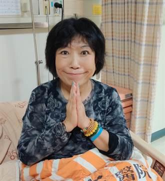 葉毓蘭驚傳「耳中風」住院:這輩子沒吃過這麼多藥