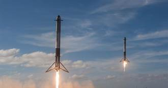 美軍設想「超快速空投」:用太空火箭來運送軍需品
