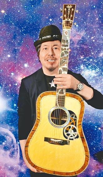 寇乃馨寵黃國倫送吉他之神當生日禮