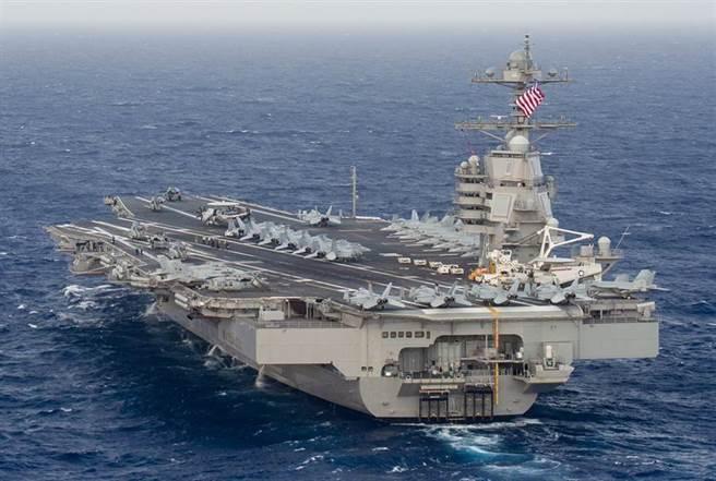 圖為美國福特級航空母艦。(圖/美國海軍)