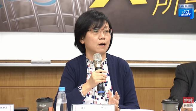 國立清華大學通識中心主任、前NCC委員翁曉玲。