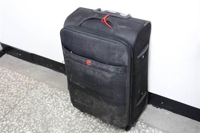 死者的行李箱。(中時資料照)