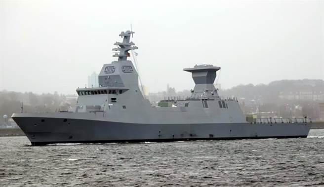 以色列萨尔6型防空巡逻舰。(图/IDF)