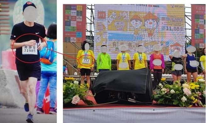 昨天在彰化縣田中鎮舉辦,被譽為全台最有人情味的「田中米倉馬拉松」,在不受疫情的影響下,熱鬧展開,吸引許多跑友前來朝聖,但卻傳出代跑,引來民眾撻伐。(翻攝irunner網站/吳建輝彰化傳直)