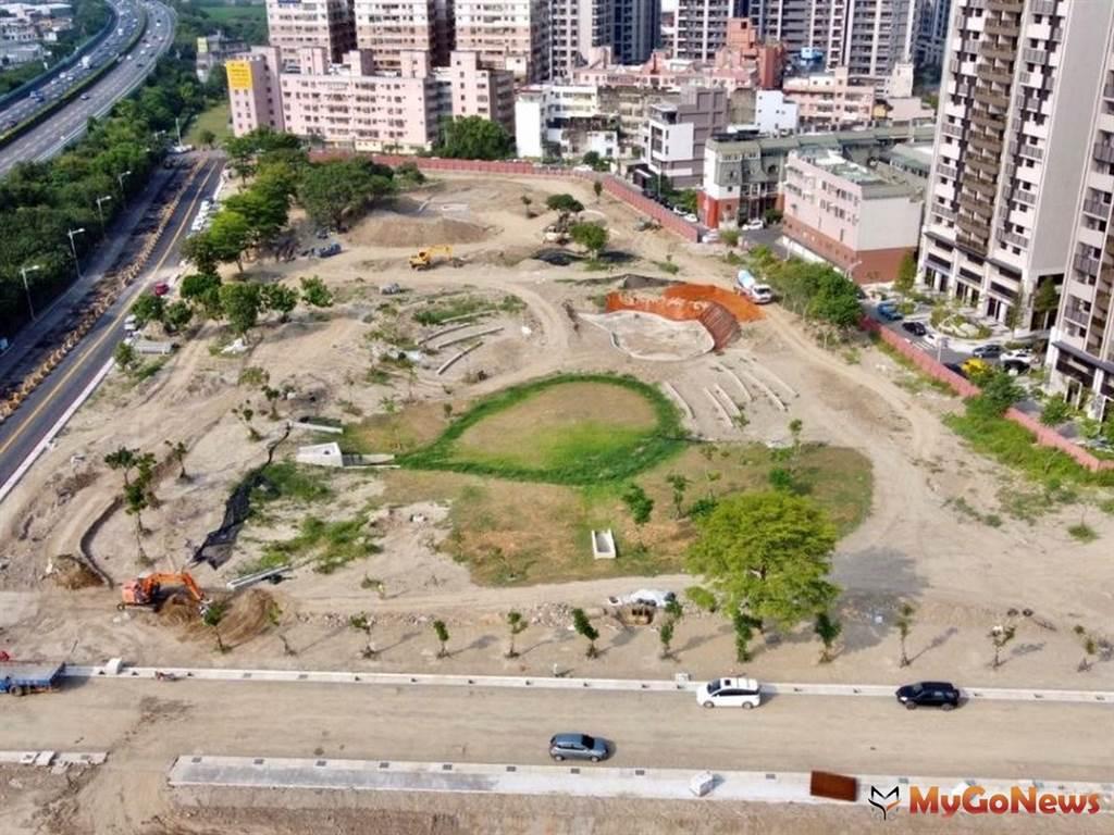新竹縣國際AI智慧園區北側規劃共融式公園 預計2021年開放(圖/新竹縣政府)