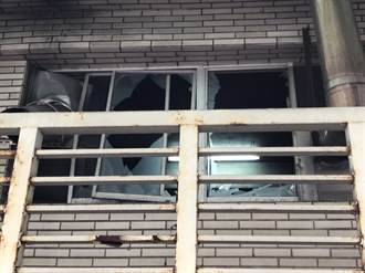 高雄某國小鍋爐室氣爆 玻璃噴飛幸無人傷亡