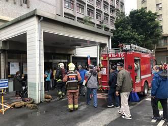 新莊台北醫院手術室火警  疑醫療儀器冒火星肇事