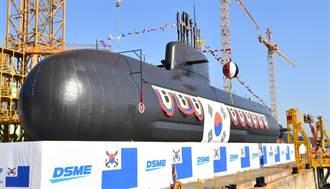 韓國3000噸潛艦安武號下水 具備潛射彈道飛彈