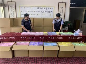 仿冒國家隊口罩 劉姓負責人遭起訴、沒收226萬元