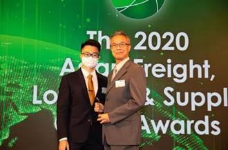 陽明海運第五度獲選年度亞洲區間最佳航商獎