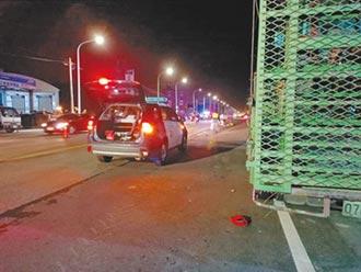 北港女警下班騎車回家遭輾斃 家屬淚崩:下輩子別再當警察