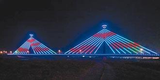 苗縣新東大橋熄燈 地方促點亮地標