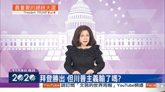 陳文茜加持中天新聞 打贏美選收視仗
