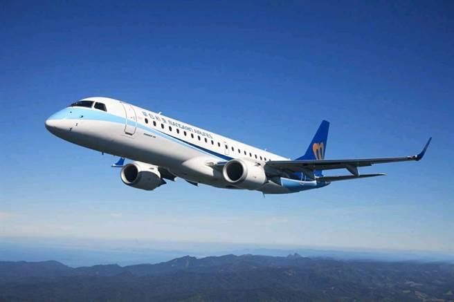 華信航空將推出「雙11瘋國旅,快閃折600元」活動,旅客購票可享600元折扣。(華信航空提供/陳祐誠傳真)