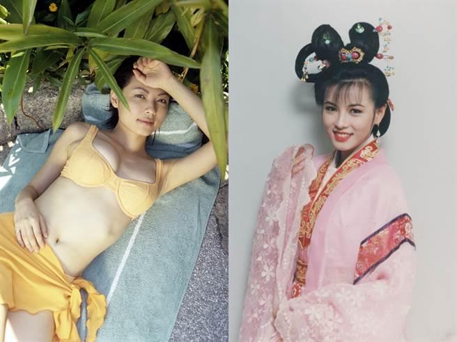 陳孝萱外型出眾,無論是現代打扮或古典扮相都很迷人,是當年許多男性心中的夢中情人。(圖/中時資料照)