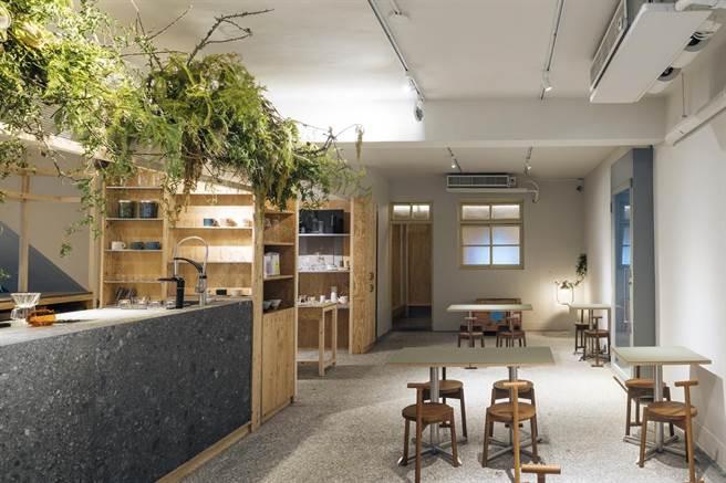 圖三:二樓為咖啡廳,將過去經營咖啡飲具多年的經驗實體化。(Nest巢家居提供)