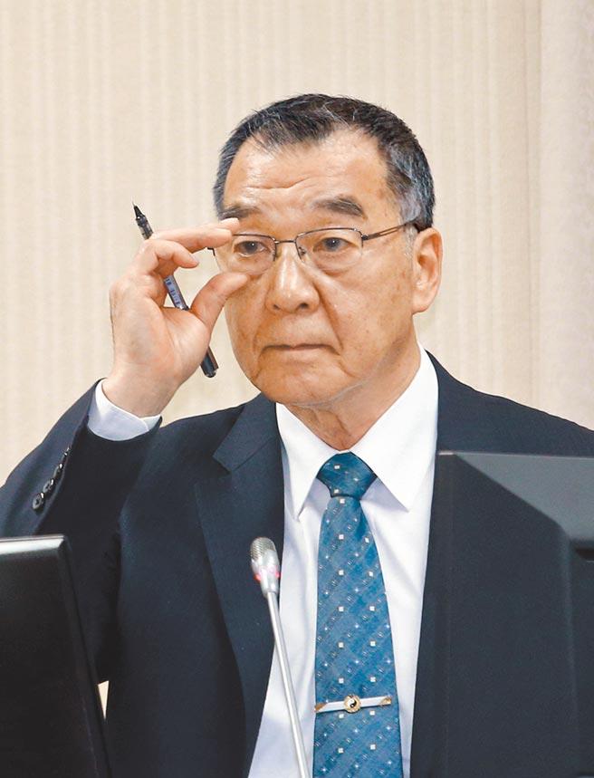 國安局長邱國正表示,美國新舊總統交接時間,一定要非常注意。(陳信翰攝)