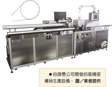 頡懋高精密導絲生產設備 成功打入高階醫療市場