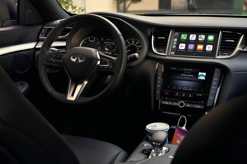 新增Apple CarPlay及多項配備升級,Infiniti 推出 QX50、Q50 馭樂升級款