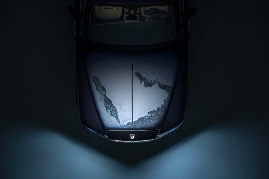 受地球啟發!Rolls-Royce發佈特殊定制Wraith–Inspired By Earth