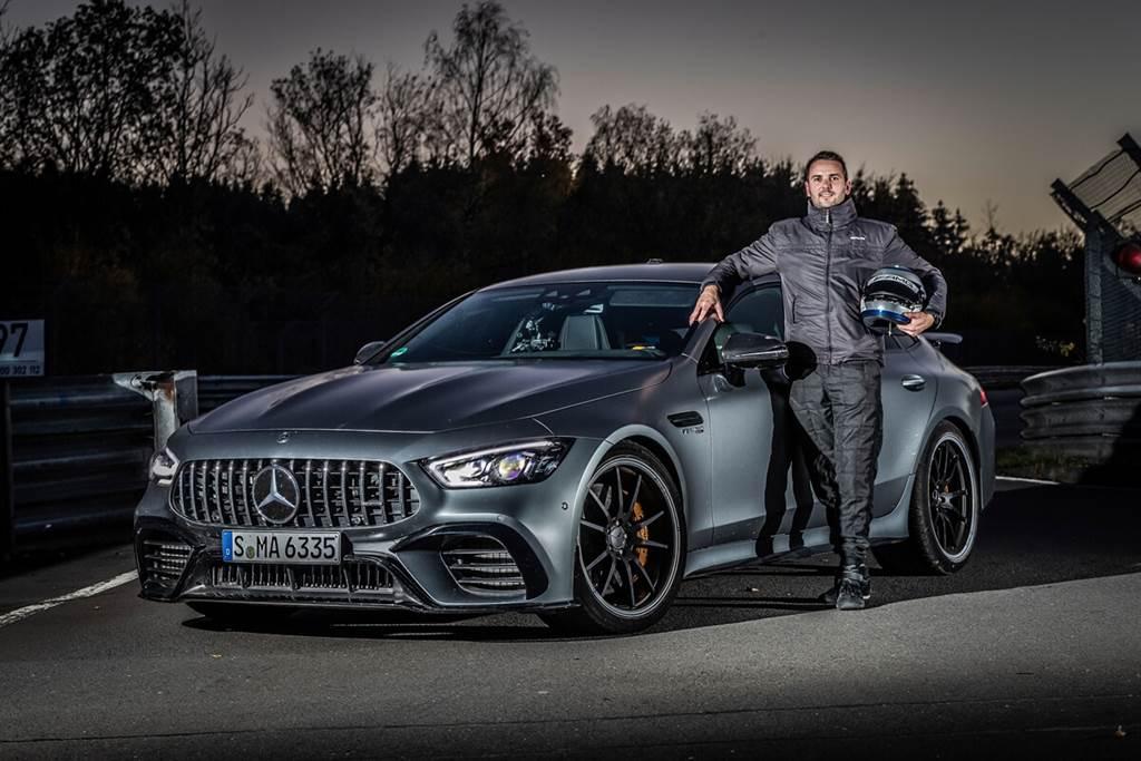 Mercedes-AMG GT 63 S 4MATIC+拿下紐柏林最速四門房車寶座