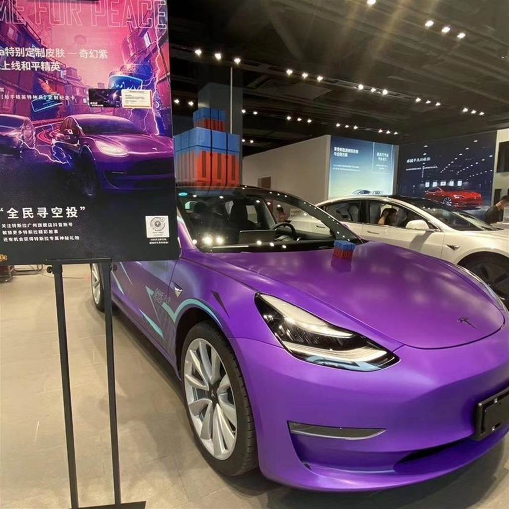 【新玩具開箱】三百有找的 Model 3 聲光迴力車:會動會閃又會叫,「奇幻紫」稀有同步登台!