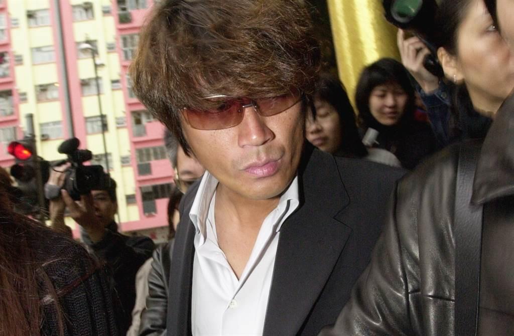 近藤真彥當年突然現身香港,出席舊愛梅艷芳喪禮。(本報系資料照)