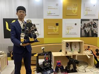 台科大學生開課教機器人 獲教育部百萬創業金