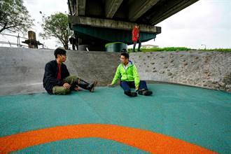 宜蘭河綠水漫遊廊道 西門橋下成亮點
