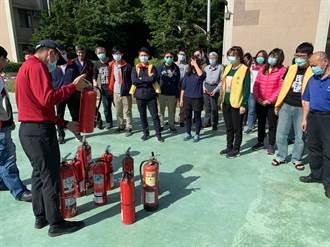 東元電機觀音廠 辦理自衛消防編組訓練