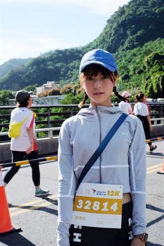 項婕如空腹跑12K 6分速跑到補給站「物資全沒」崩潰