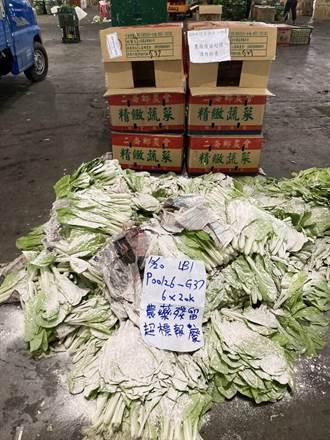 北市10月抽驗蔬果農藥殘留 竟有84件不合格