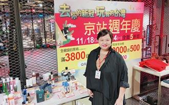 周年慶鳴槍 京站最高回饋22%搶客