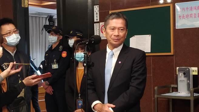 李永得表示,文化部一直以來用很多實際的行動來支持獨立書店。(王寶兒攝)