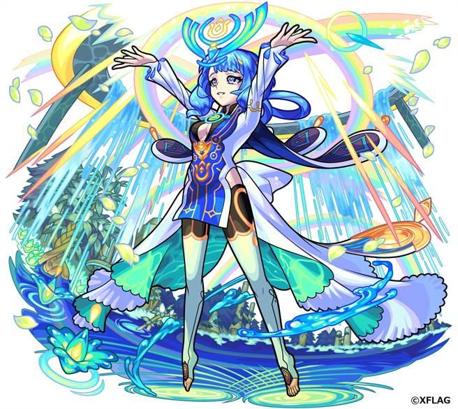 神化型態角色 滋潤大地的清泉女神 烏魯魯蜜絲