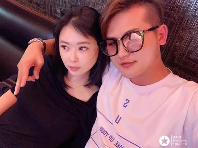梁軒安在結婚三週年的今天 宣布蕭淑慎抗癌成功 (圖/ 翻攝自梁軒安臉書)