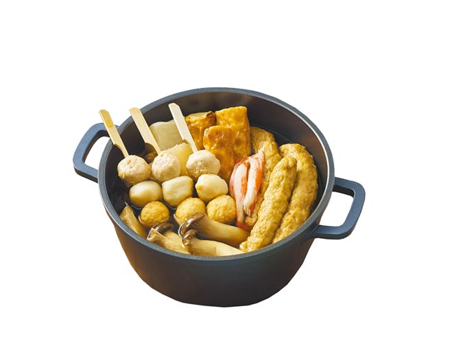OK超商經典日式湯頭關東煮。(OK提供)