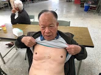 竹縣消防員搶救電擊8次  8旬老翁起死回生康復出院