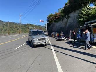 保七實習生騎車返隊 台3線過彎遭違規廂型車撞擊
