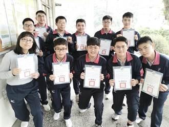 高中能力競賽成果揭曉 二信高中11人獲獎 4人晉級決賽