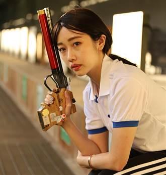 射擊國手吳佳穎 甜美帥氣的雙面辣台妹